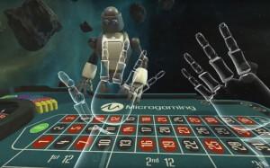 Virtual reality microgaming